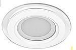 Встраиваемый светодиодный светильник Feron AL2110 6W (со стеклом) белый свет 5000К