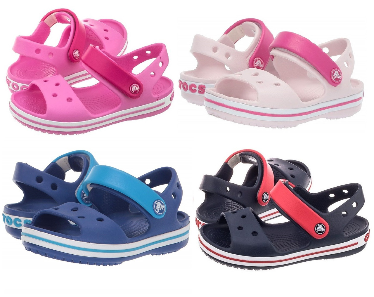 Босоножки Кроксы Крокбэнд сандалии / Crocs Kids Crocband Sandal