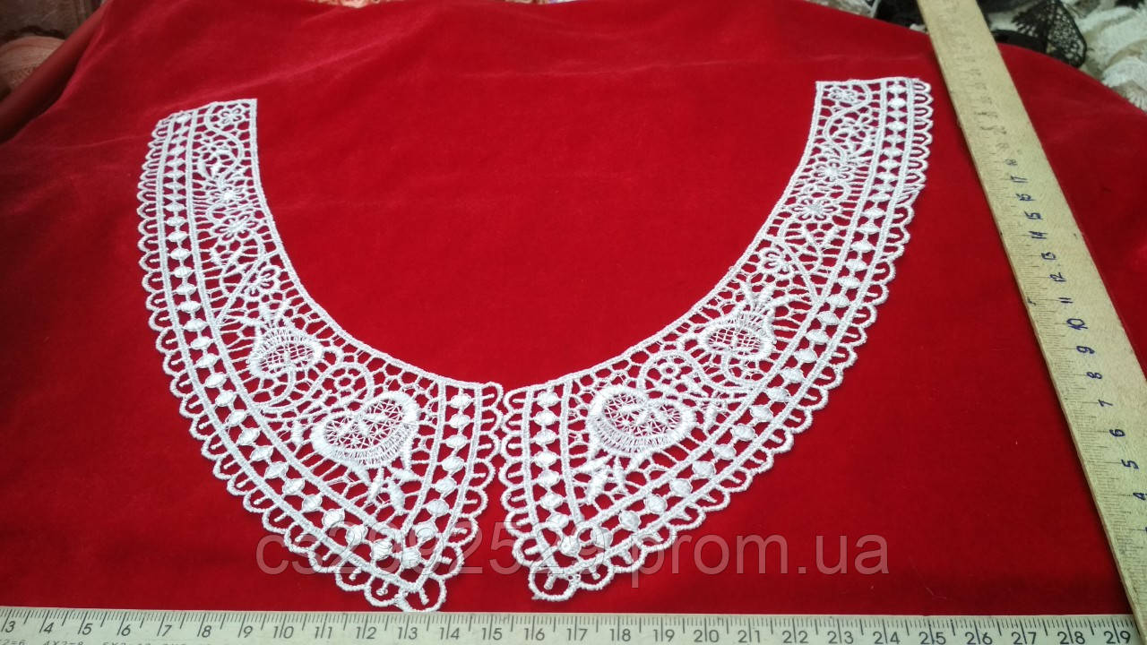 Вставки воротнички,нашивки на одежду(пара)