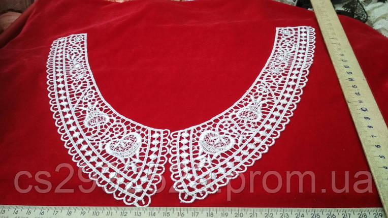 Вставки воротнички,нашивки на одежду(пара), фото 2