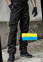 Брюки тактические чёрные полицейские