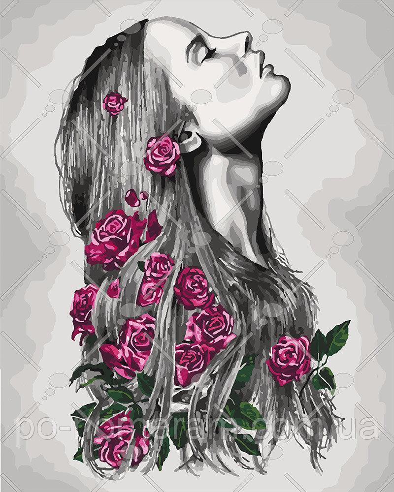 Картина по номерам Цветение 40 х 50 см (KHO4576)