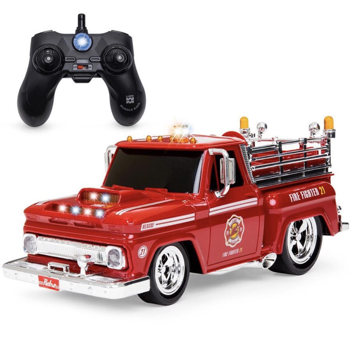 Пожарная машина на управлении от BCP
