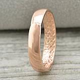 Кольцо обручальное 18 размер позолота РО, фото 4