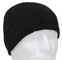 Зимняя шапка BW флисовая, черная, фото 1