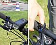 Велосипедный Фонарь на Солнечной Батарее со Звонком Solar Light FY-316, фото 7