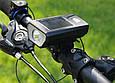 Велосипедный Фонарь на Солнечной Батарее со Звонком Solar Light FY-316, фото 6
