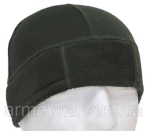 Зимняя шапка BW флисовая, олива