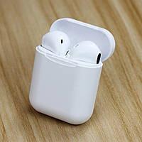 Беспроводные Bluetooth наушники в кейсе Power Bank типа AirPods i11 TWS белые