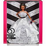 Барби коллекционная 60 летний юбилей афроамериканка, фото 10