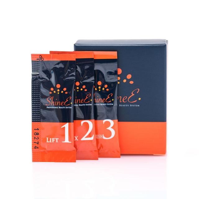 shinee набор составов для ламинирования ресниц и бровей 1 мл в саше