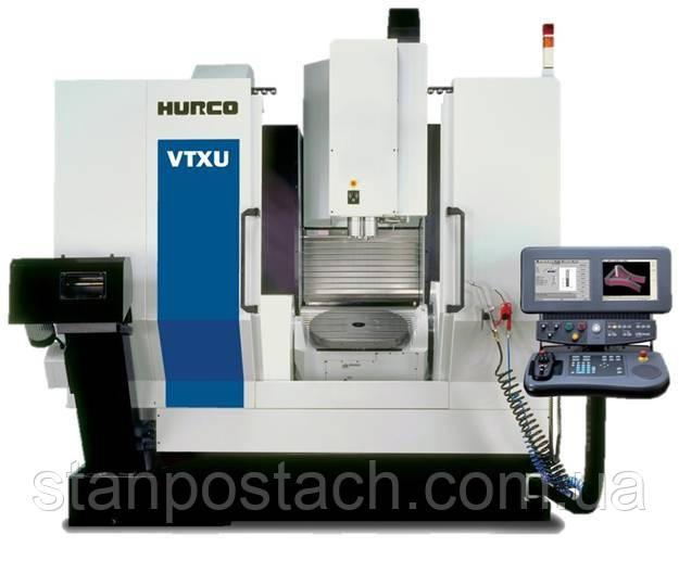 Обрабатывающие центры HURСO VTXU (5-осевая обработка)