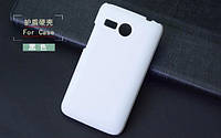 Чехол накладка бампер для Lenovo A316i белый
