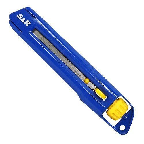 Нож 170 мм с 18 мм сегментными лезвиями S&R (432318172)