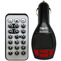 FM модулятор HAVIT HV-FM50BT black