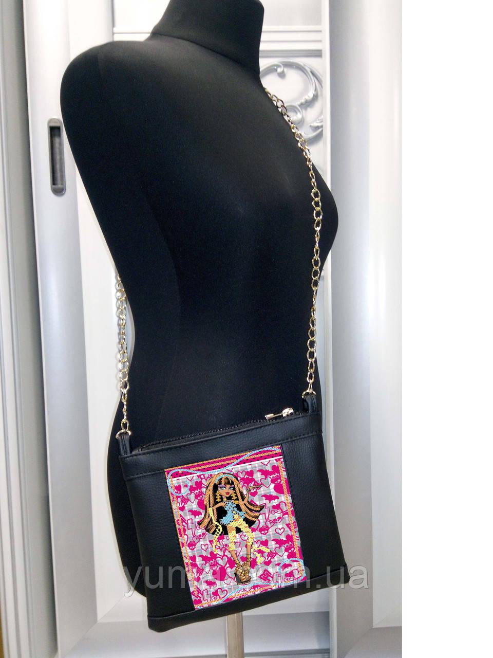 Сумочка детская  для вышивки бисером модель  Мия 16