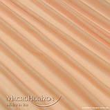 Комплект Готового Тюля Вуаль Персик, арт. MG-69559, Тесьма-Органза 6 см, Однотонный, 290*300 см, фото 2