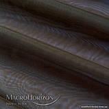 Комплект Готового Тюля Вуаль Тёмно-Коричневый, арт. MG-83476, Тесьма-Органза 6 см, Однотонный, 290*300 см, фото 3