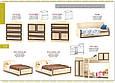 Дисней Шкаф 2Д3Ш (Мебель Сервис), фото 6