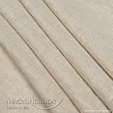 Тюль    Лён Натуральный, арт. MG-TL-109194, Тесьма-Органза 6 см, Однотонный, 290*200 см, фото 2