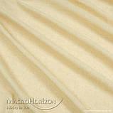 Комплект Готового Тюля Лён Соломенно-Желтый, арт. MG-TL-129773, Тесьма-Органза 6 см, Однотонный, 290*500 см, фото 2