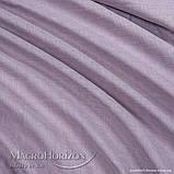 Комплект Готового Тюля Лён Сирень, арт. MG-TL-129772, Тесьма-Органза 6 см, Однотонный, 290*500 см, фото 3