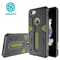Чехол Nillkin для iPhone 8/7 Defender, Black+Green