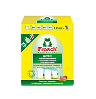 Стиральный порошок-концентрат Ультра/Цитрус FROSCH 1,35 кг