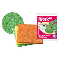 Тканевые мочалки для мытья посуды YORK HIM-Y-032030