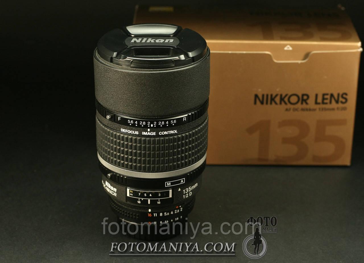 AF DC Nikkor 135mm f2.0 D