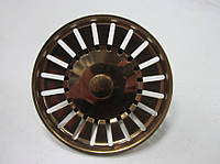 Сетка красное золото 83 мм с металлическим штырем, фото 1