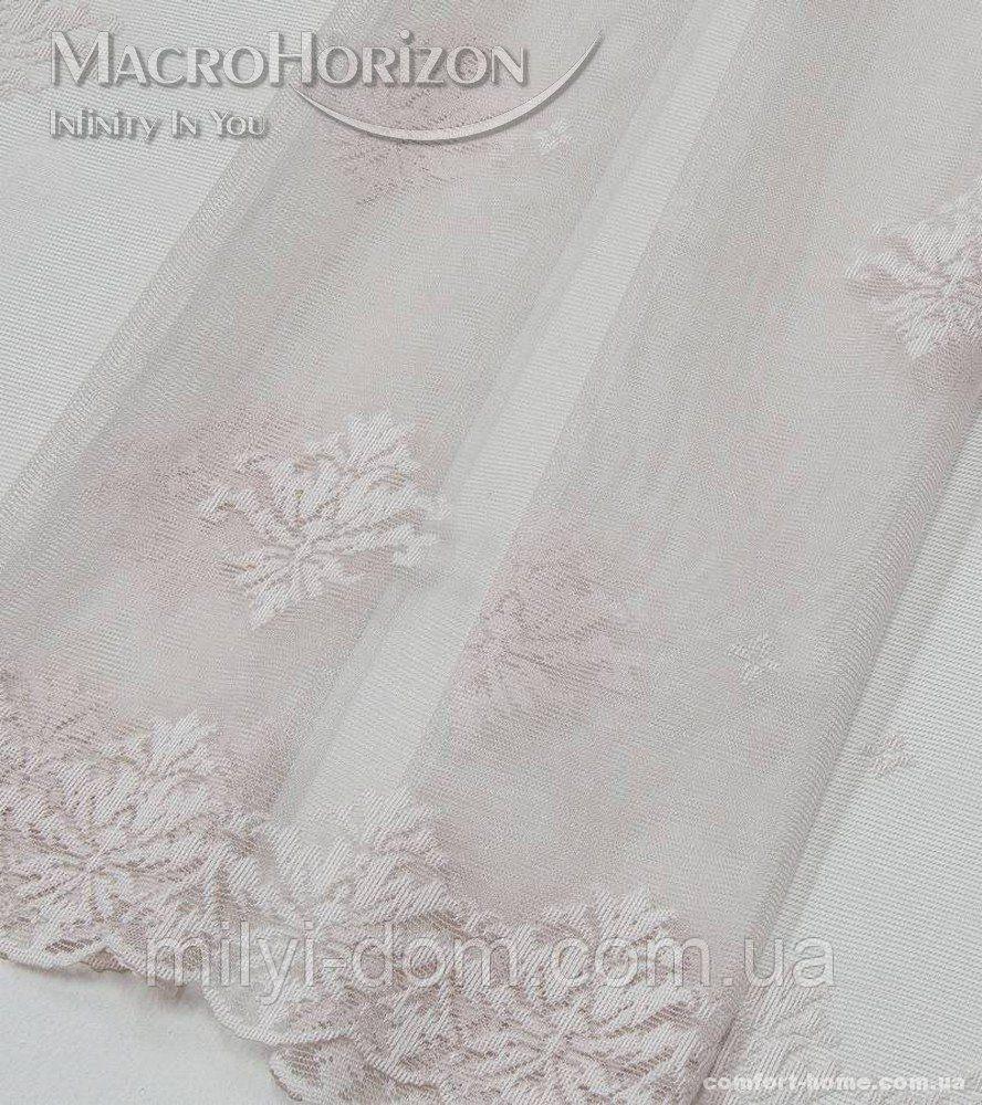 Комплект готового Тюля Гипюр Лилия розовый жемчуг, арт. MG-144867