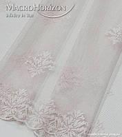 Комплект готового Тюля Гипюр Лилия розовый жемчуг, арт. MG-144867, фото 1