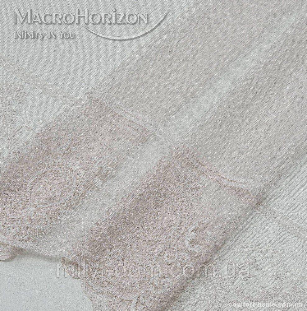 Тюль Гіпюр Муза рожевий перли, арт. MG-144870