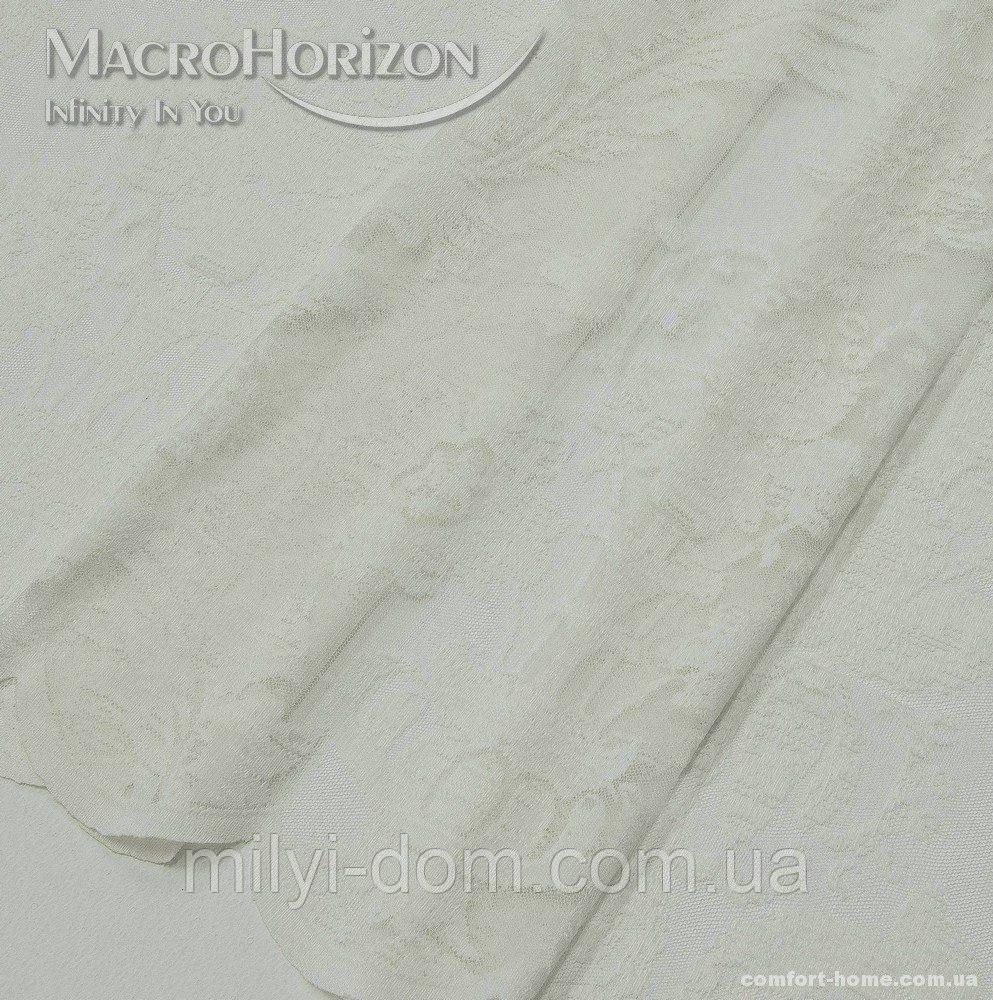 Тюль Гіпюр Верона молочний, арт. MG-144994