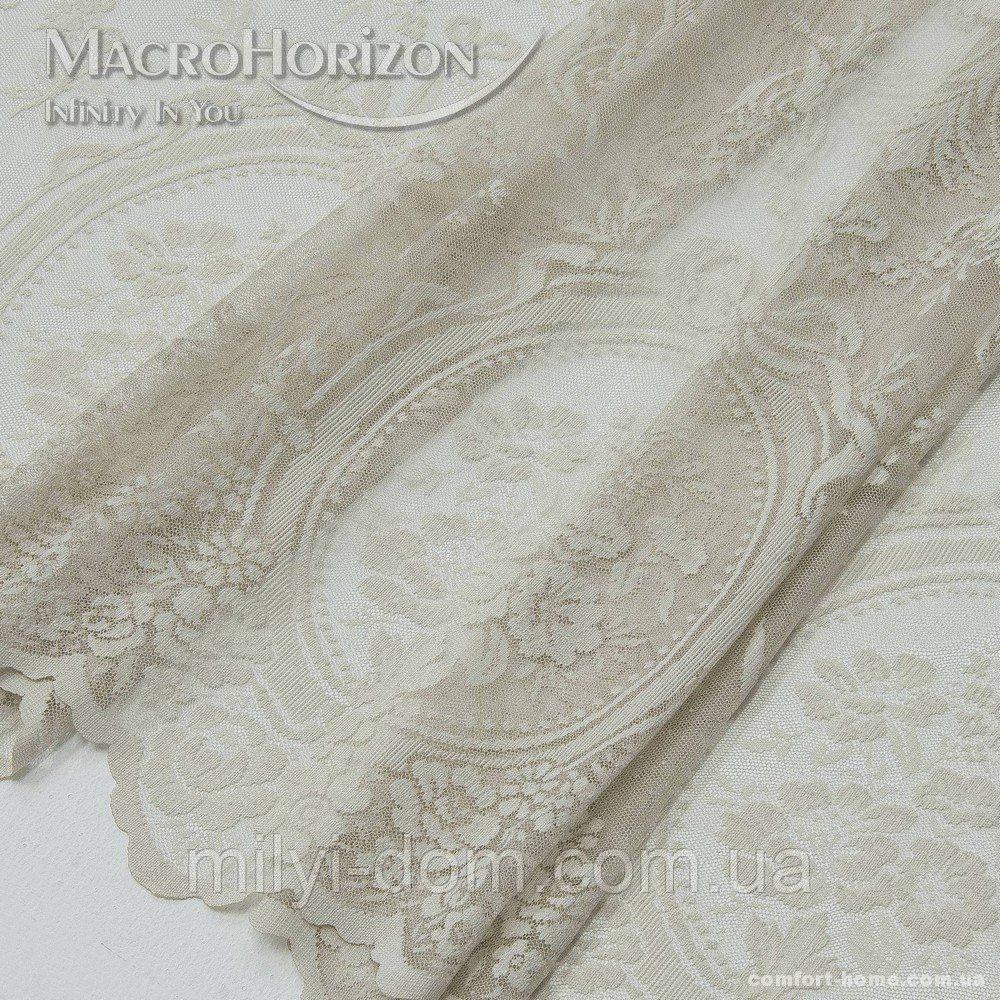 Комплект готового Тюля Гипюр Либретто св.песок, арт. MG-144998