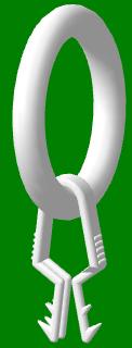 Кольцо с прищепкой