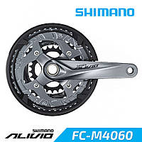 Shimano FC-M4060 Alivio Шатуны для велосипеда HT2 175 мм 26-36-48 зубцов