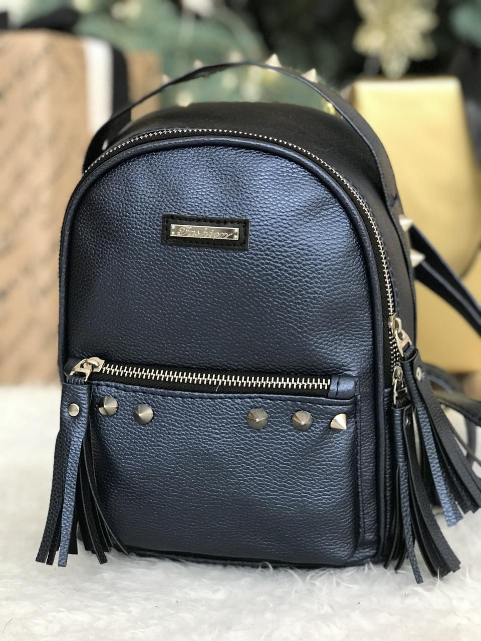 Женский рюкзак R-119-3, синий