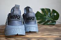 Кроссовки серые Nike Air Huarache Ultra Gray Найк Аир Хуарачи Ультра