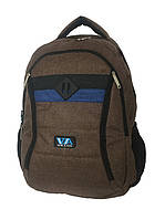 Рюкзак школьный VA R-77-97, коричневый, фото 1