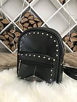 Женский рюкзак R-114-1, черный