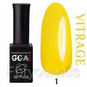 Гель-лак GGA Professional витражный №1 10 мл