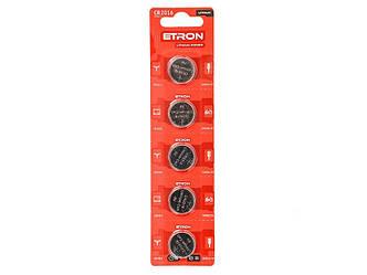 Батарейка CR2016 3V литиевые ETRON (5шт/уп)