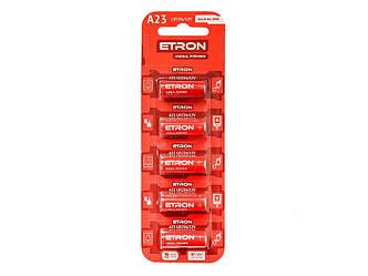 Батарейка (A23-C5 12V) Алкалінова ETRON Alkaline