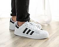 Мужские кроссовки в стиле Adidas Superstar (41, 42, 43, 44, 45 размеры)