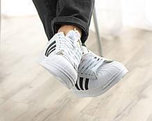 Мужские кроссовки в стиле Adidas Superstar (41, 42, 43, 44, 45 размеры), фото 2