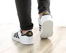 Мужские кроссовки в стиле Adidas Superstar (41, 42, 43, 44, 45 размеры), фото 3