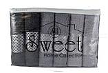 Махрові рушники для обличчя, 50х90 см, 6 шт. в наборi, 100% бавовна, фото 2