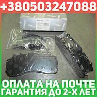 ⭐⭐⭐⭐⭐ Колодка торм. дисковая     (комплект  на ось) BPW, DAF XF95, IVECO, MB ACTROS, SAF, SCANIA (RIDER)